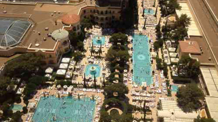 Concertos musicais, shows, esportes e festas de piscina em Las Vegas Julho  2013