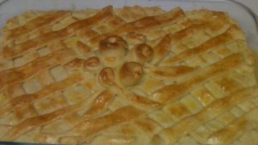 Chicken pie ! Torta de galinha ….good !