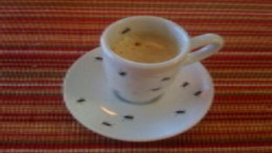 Cappuccino….very creamy and delicious !