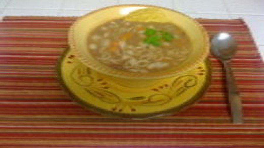 Sopa de feijão – Bean's Soup … So simple … so good !